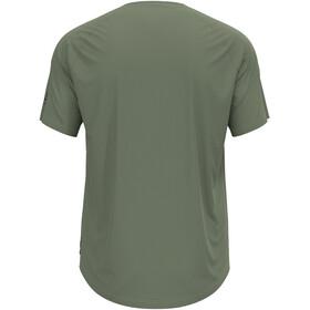 Odlo Concord T-Shirt S/S Crew Neck Men, matte green/forest graphic
